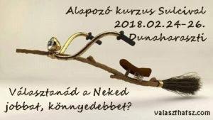 Alapozó kurzus Dunaharasztiban 02.24-26.