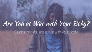 Háborút viselsz a tested ellen? – Dr. Lisa Cooney