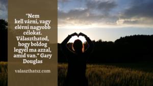 Morzsák: Gary Douglas
