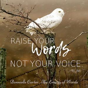 A szavak energiája – Donnielle Carter